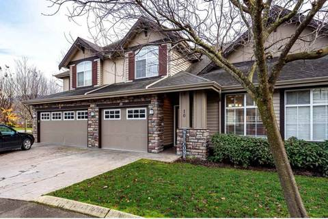 Townhouse for sale at 6577 Southdowne Pl Unit 10 Sardis British Columbia - MLS: R2421366