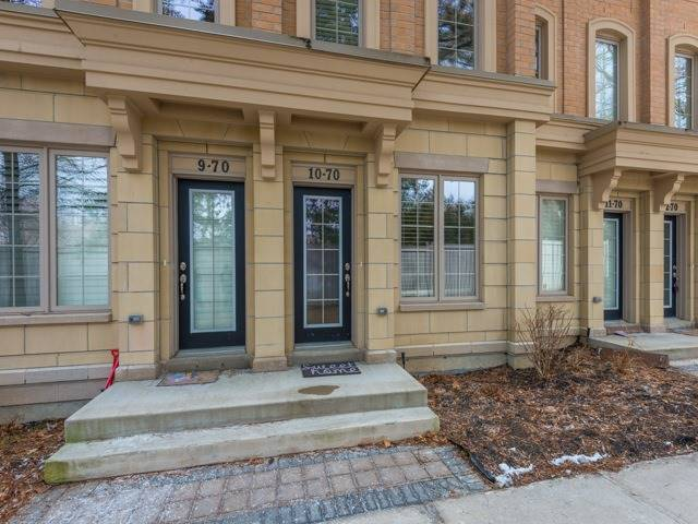 For Sale: 10 - 70 Hargrave Lane, Toronto, ON | 3 Bed, 3 Bath Townhouse for $1,169,000. See 11 photos!