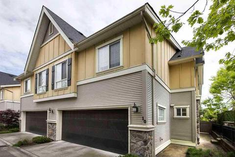 Townhouse for sale at 7171 Steveston Hy Unit 10 Richmond British Columbia - MLS: R2444204