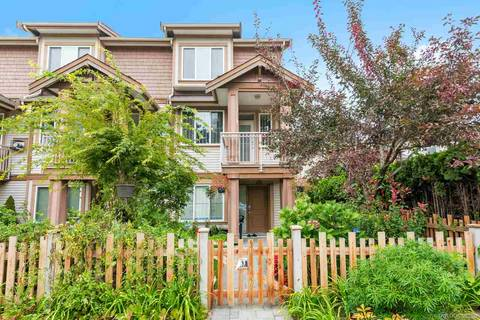Townhouse for sale at 7400 Heather St Unit 10 Richmond British Columbia - MLS: R2404885