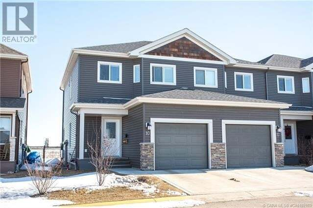 Townhouse for sale at 76 Terrace Heights Dr Unit 10 Lacombe Alberta - MLS: ca0192103