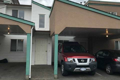 Townhouse for sale at 7715 Luckakuck Pl Unit 10 Sardis British Columbia - MLS: R2365671