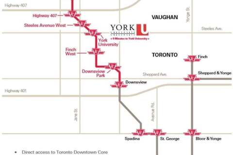 Condo for sale at 7895 Jane St Unit 2814 Vaughan Ontario - MLS: N4774592