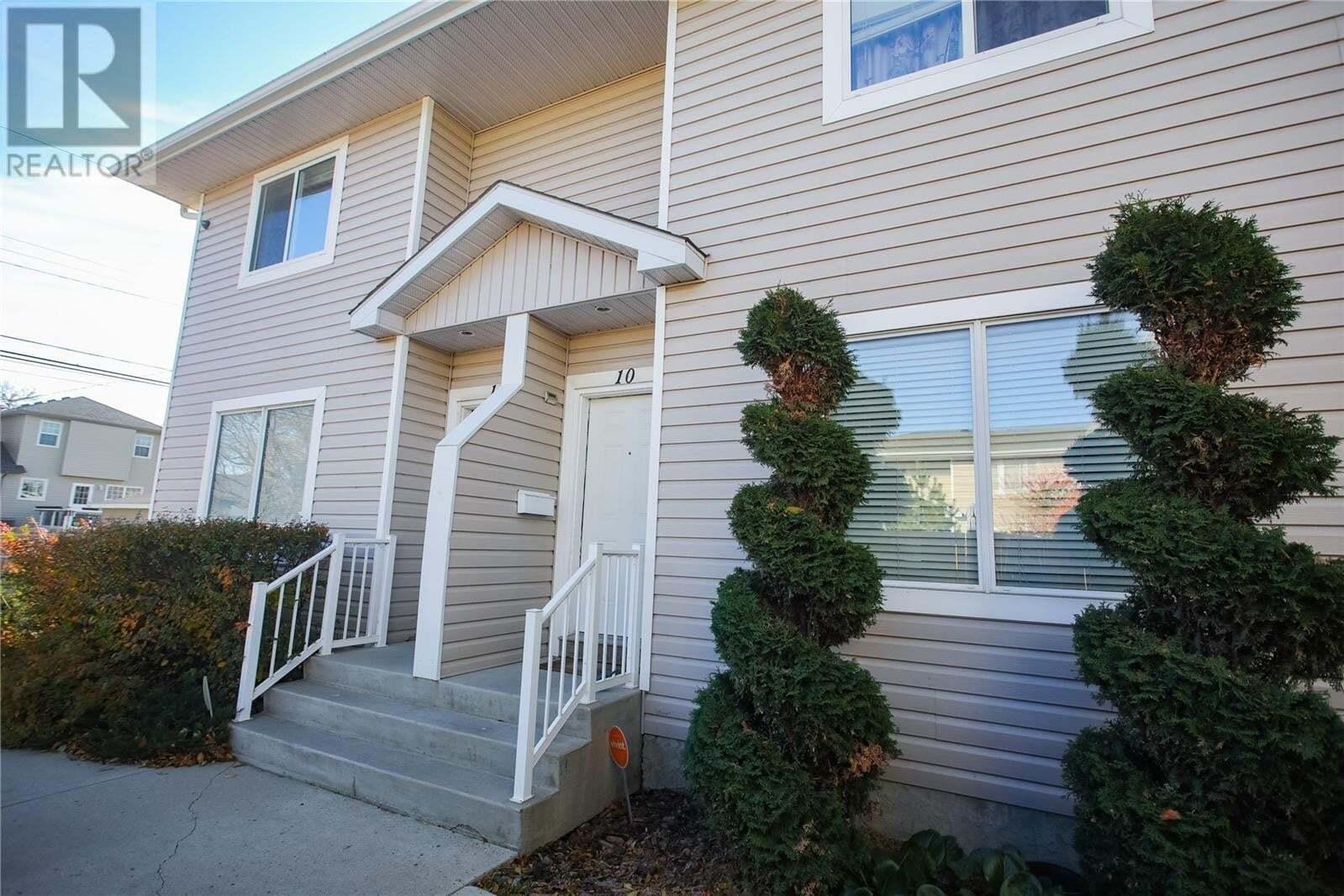Townhouse for sale at 802 K Ave N Unit 10 Saskatoon Saskatchewan - MLS: SK830380