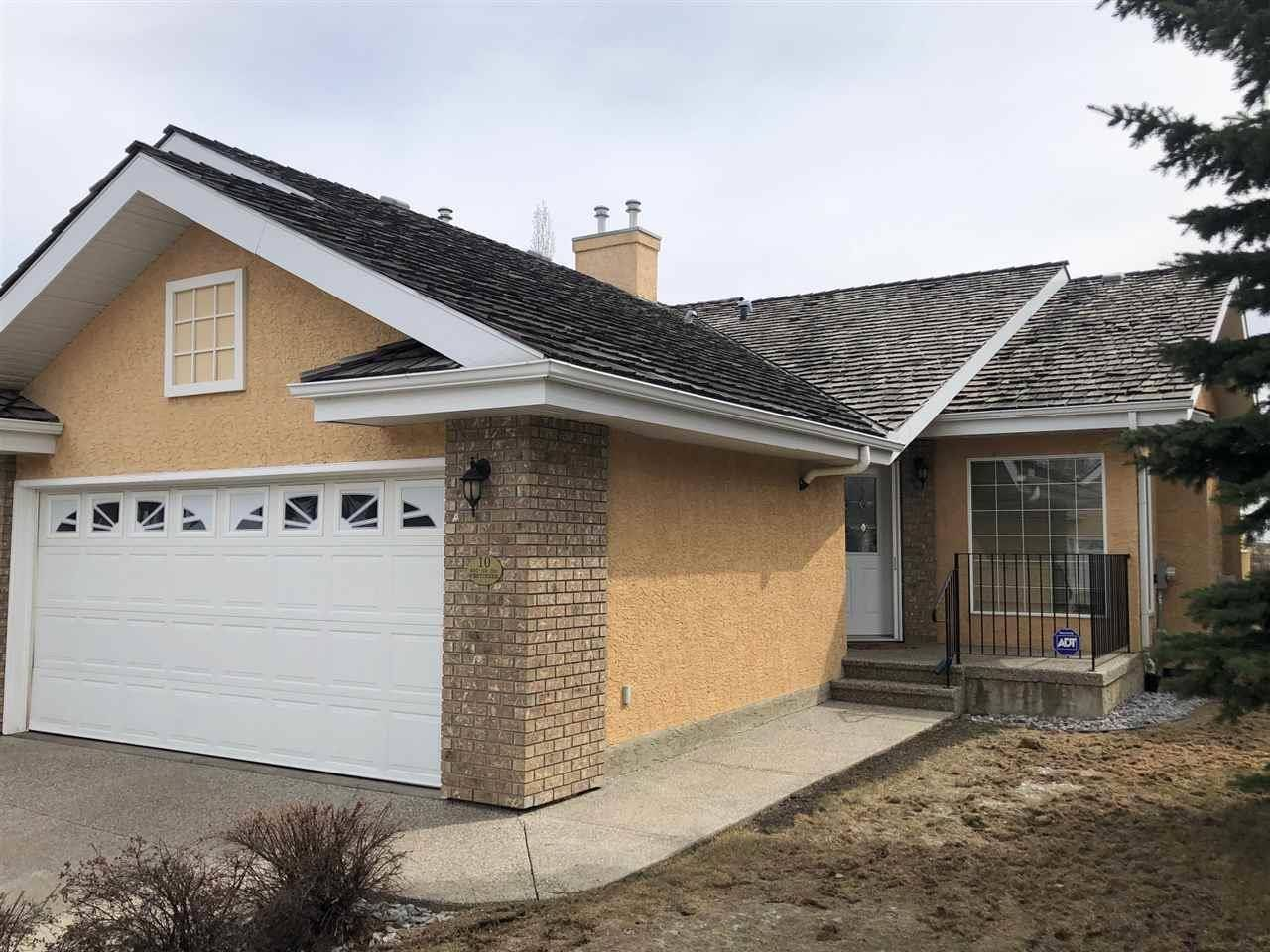 Townhouse for sale at 920 119 St Nw Unit 10 Edmonton Alberta - MLS: E4186892