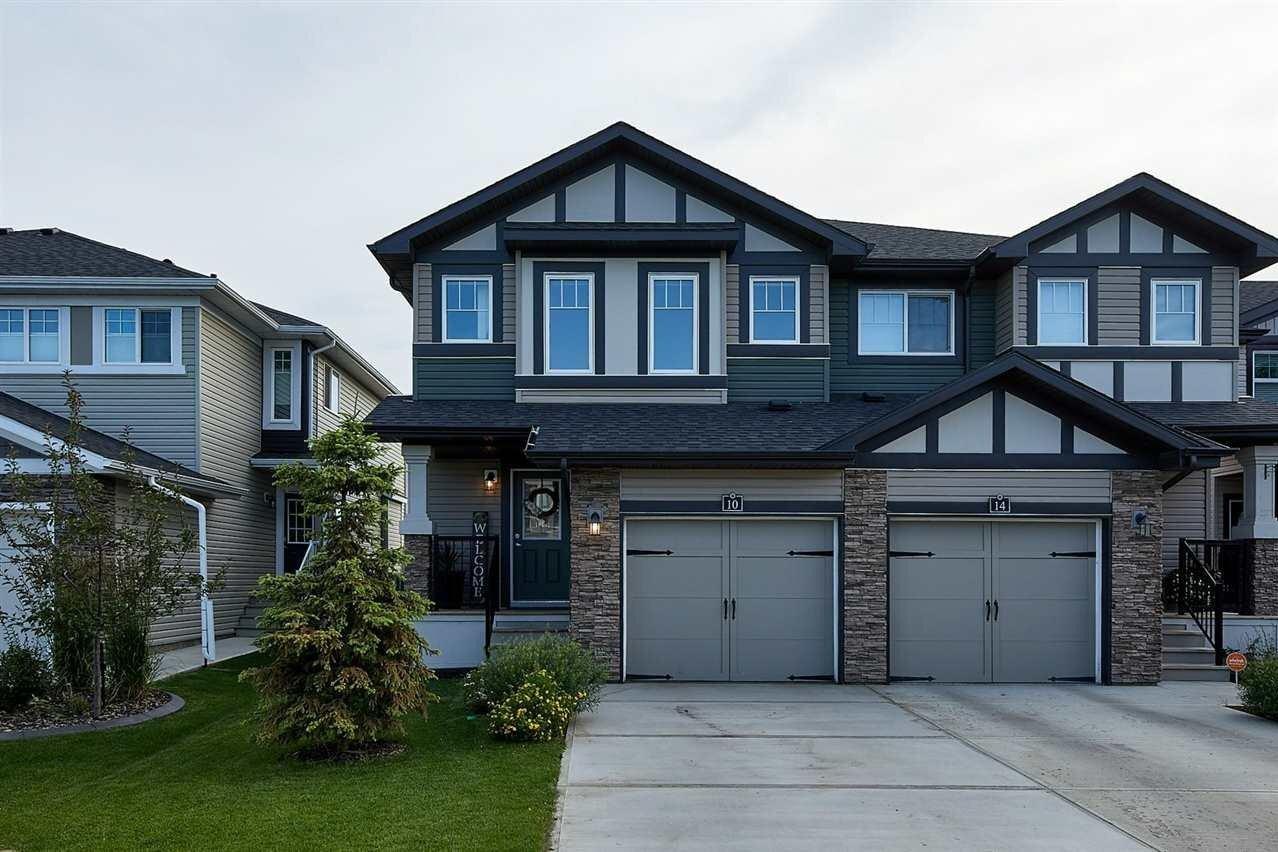 Townhouse for sale at 10 Aberdeen Cr Sherwood Park Alberta - MLS: E4225130