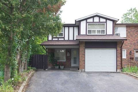 Townhouse for sale at 10 Apache Tr Toronto Ontario - MLS: C4566991