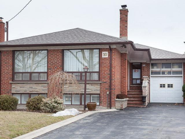 For Sale: 10 Billcar Road, Toronto, ON | 3 Bed, 2 Bath House for $849,000. See 16 photos!