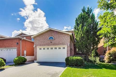 House for sale at 10 Bluestone St Vaughan Ontario - MLS: N4570538