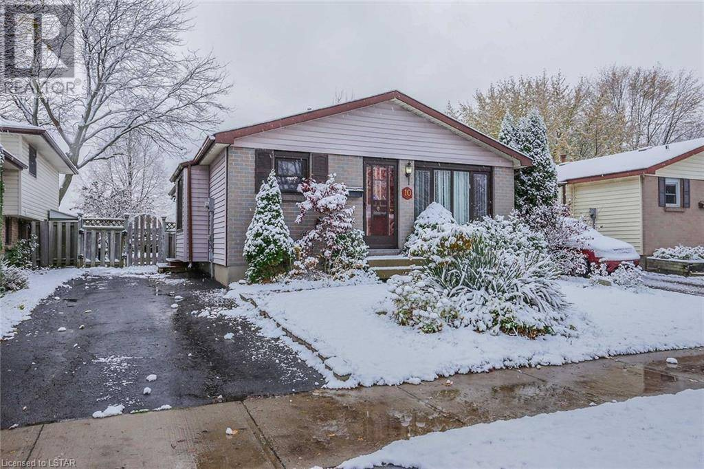 House for sale at 10 Bridlington Rd London Ontario - MLS: 231854