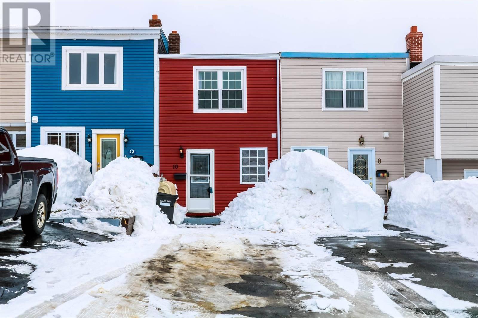 House for sale at 10 Devine Pl St. John's Newfoundland - MLS: 1209829