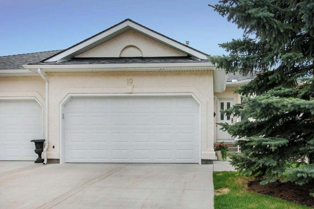 Townhouse for sale at 10 Eagleview Pl Gleneagles, Cochrane Alberta - MLS: C4297730