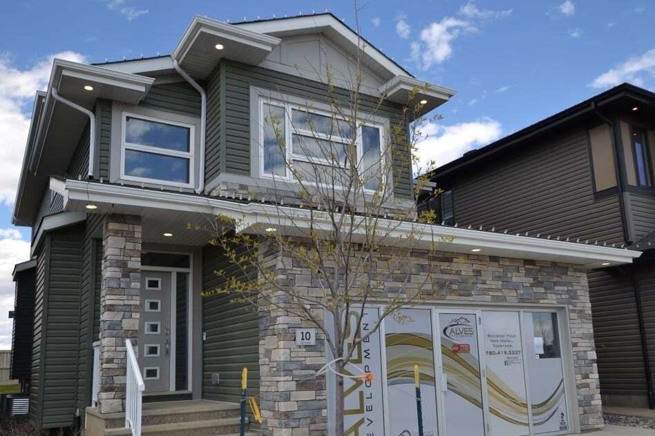 House for sale at 10 Edison Dr St. Albert Alberta - MLS: E4204140