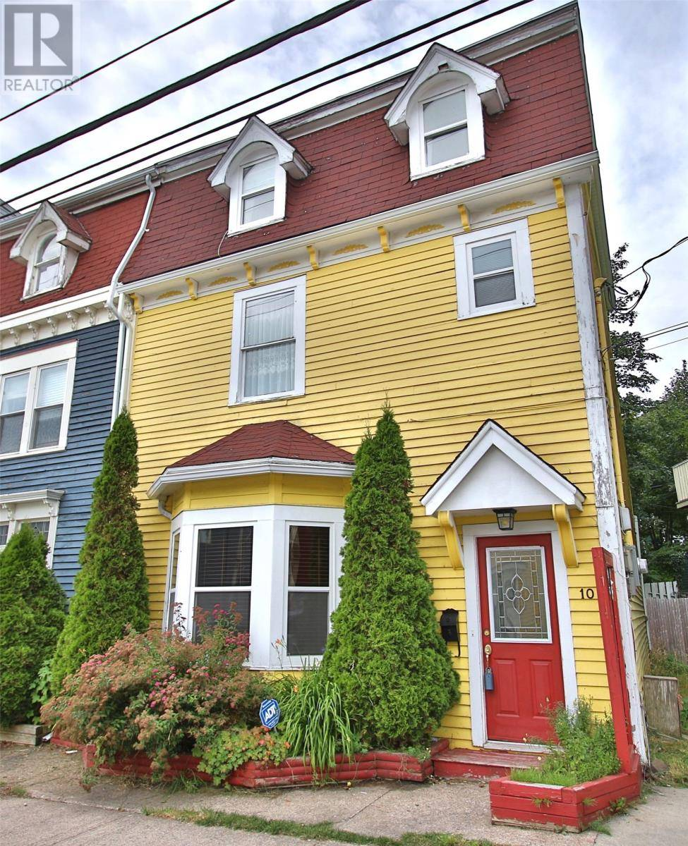 House for sale at 10 Gower St St. John's Newfoundland - MLS: 1203425