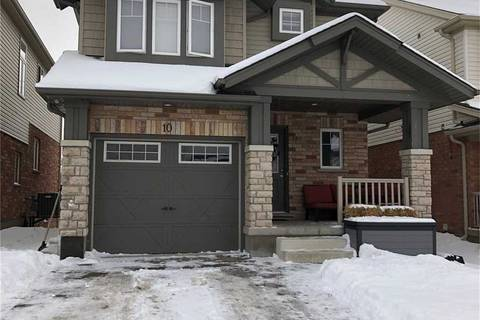 House for rent at 10 Harding St Kitchener Ontario - MLS: X4692218