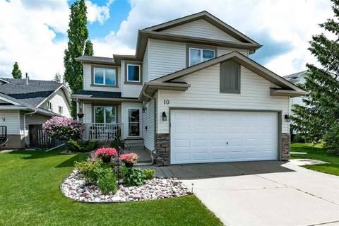 House for sale at 10 Harmony Pl Sherwood Park Alberta - MLS: E4162017