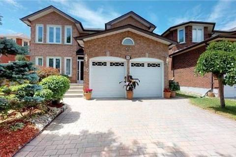 House for sale at 10 Hearthstone Cres Richmond Hill Ontario - MLS: N4407144