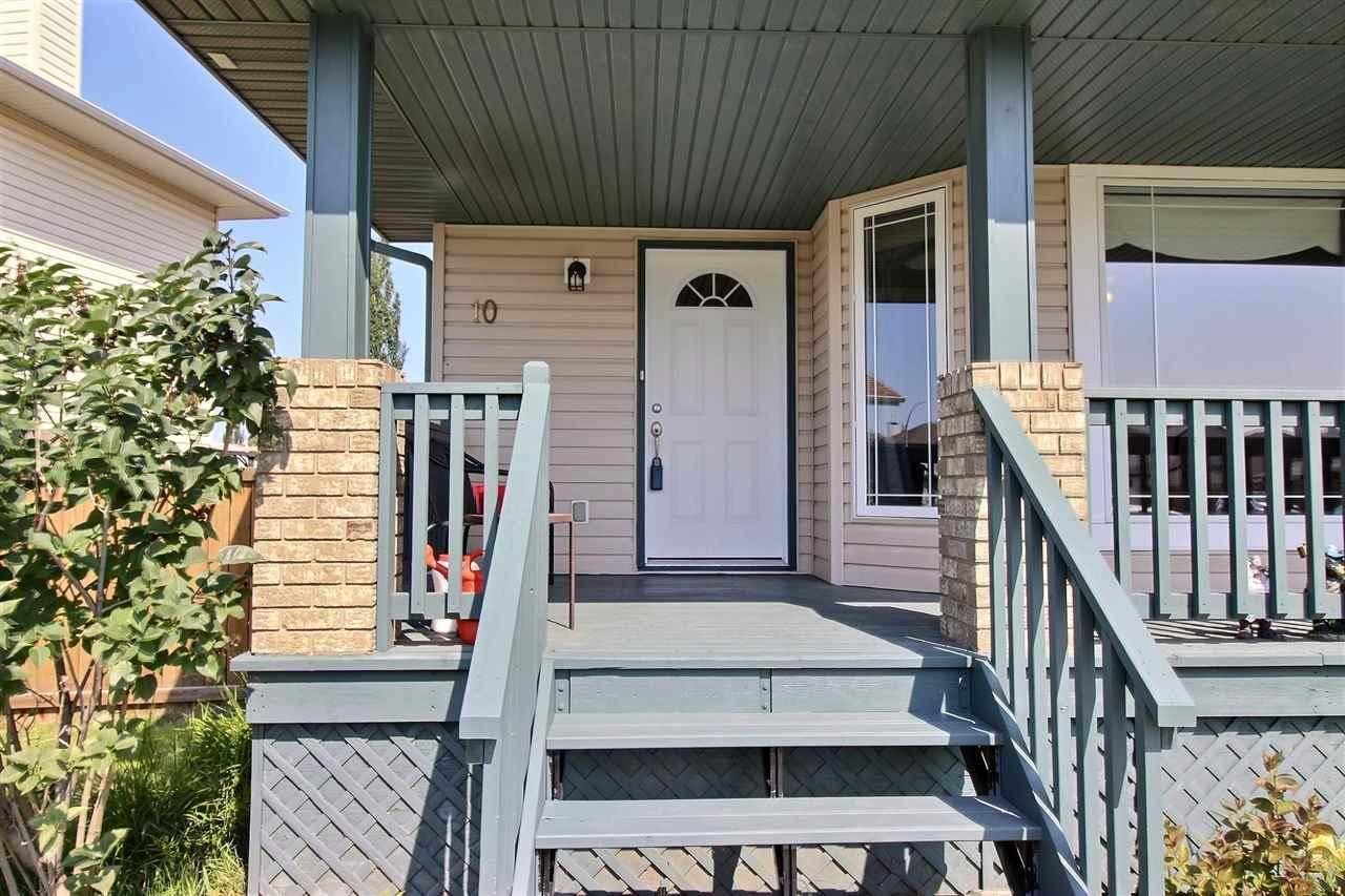 House for sale at 10 Heatherglen Cres Spruce Grove Alberta - MLS: E4169644