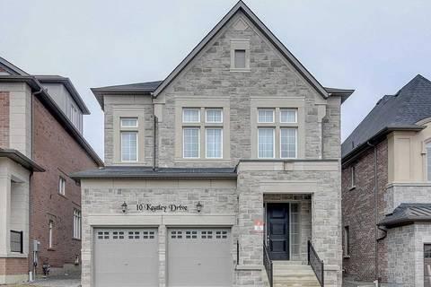 House for sale at 10 Keatley Dr Vaughan Ontario - MLS: N4392756