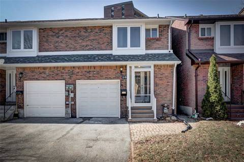 Townhouse for sale at 10 Markburn Ct Toronto Ontario - MLS: W4409142