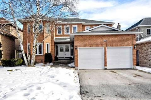 House for sale at 10 Mcgee Cres Aurora Ontario - MLS: N4686514