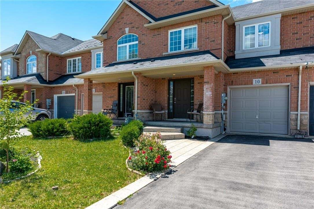 Townhouse for sale at 10 Mckibbon Ave Hamilton Ontario - MLS: H4084679