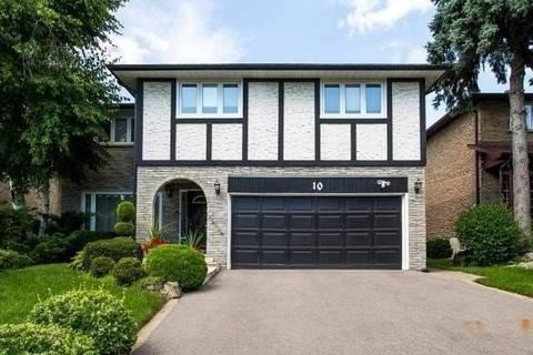House for sale at 10 Mistflower Rd Toronto Ontario - MLS: C4479946