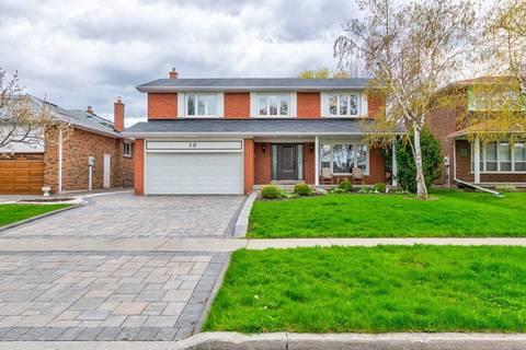 House for sale at 10 Orangewood Cres Toronto Ontario - MLS: E4454214