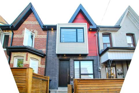 Townhouse for rent at 10 Palmerston Ave Toronto Ontario - MLS: C4495173