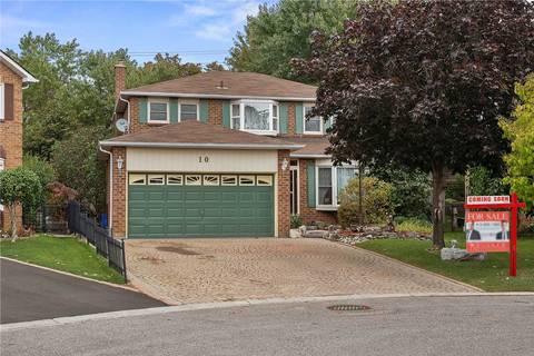 House for sale at 10 Parthenon Sq Brampton Ontario - MLS: W4603727