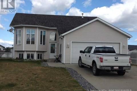 House for sale at 10 Patterson Pl Whitecourt Alberta - MLS: 49630