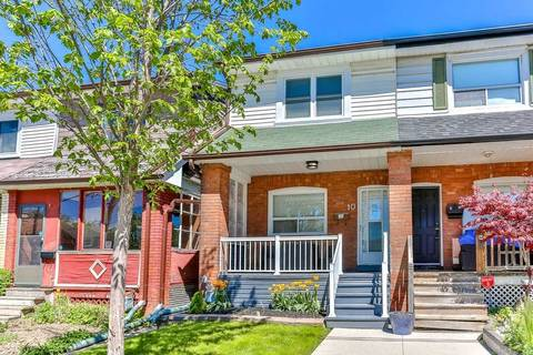 Townhouse for sale at 10 Rockwell Ave Toronto Ontario - MLS: W4493100