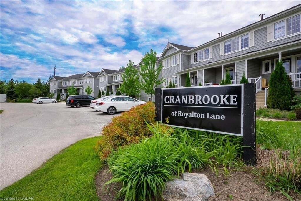 Townhouse for sale at 10 Royalton Ln Collingwood Ontario - MLS: 263889
