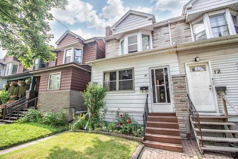 Townhouse for sale at 10 Sawden Ave Toronto Ontario - MLS: E4513165