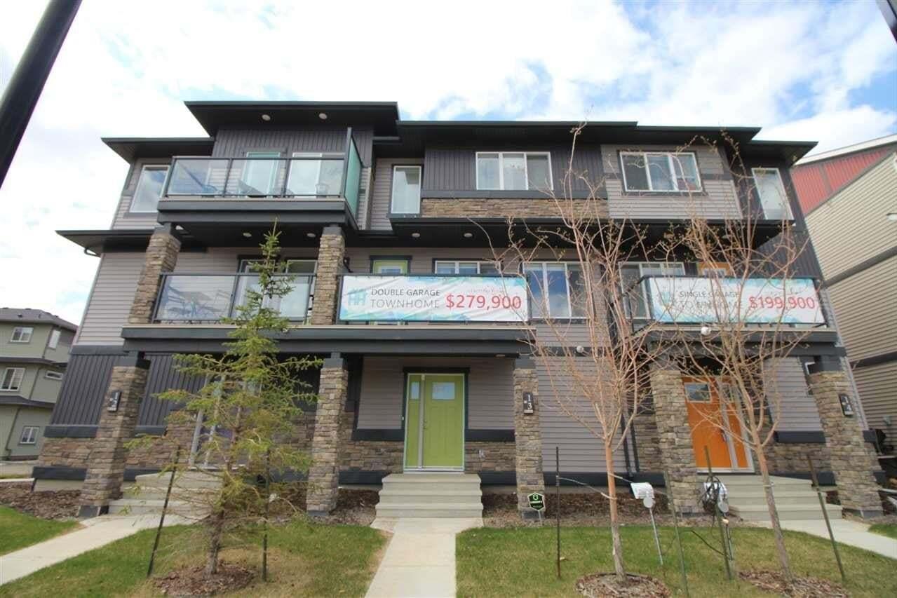 Townhouse for sale at 1530 Tamarack Bv NW Unit 100 Edmonton Alberta - MLS: E4204545