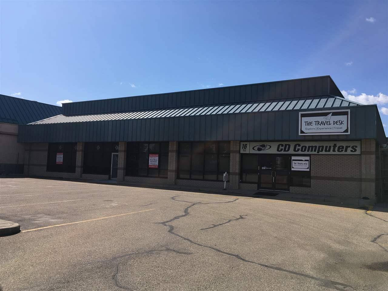 Commercial property for sale at 16 Mcleod Ave Unit 100 Spruce Grove Alberta - MLS: E4095648