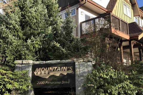 Townhouse for sale at 2000 Panorama Dr Unit 100 Port Moody British Columbia - MLS: R2432634