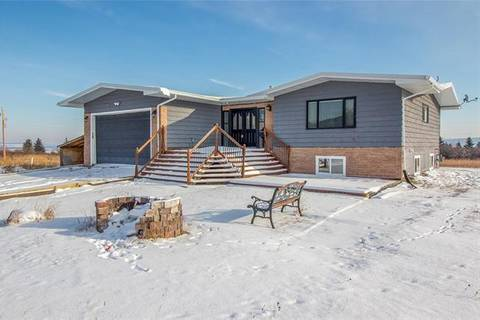 House for sale at 240155 210 Ave West Unit 100 Rural Foothills County Alberta - MLS: C4236542