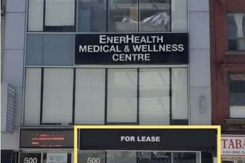 Commercial property for lease at 500 Yonge St Apartment 100 Toronto Ontario - MLS: C4840729