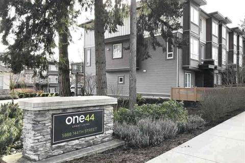 Townhouse for sale at 5888 144 St Unit 100 Surrey British Columbia - MLS: R2438718