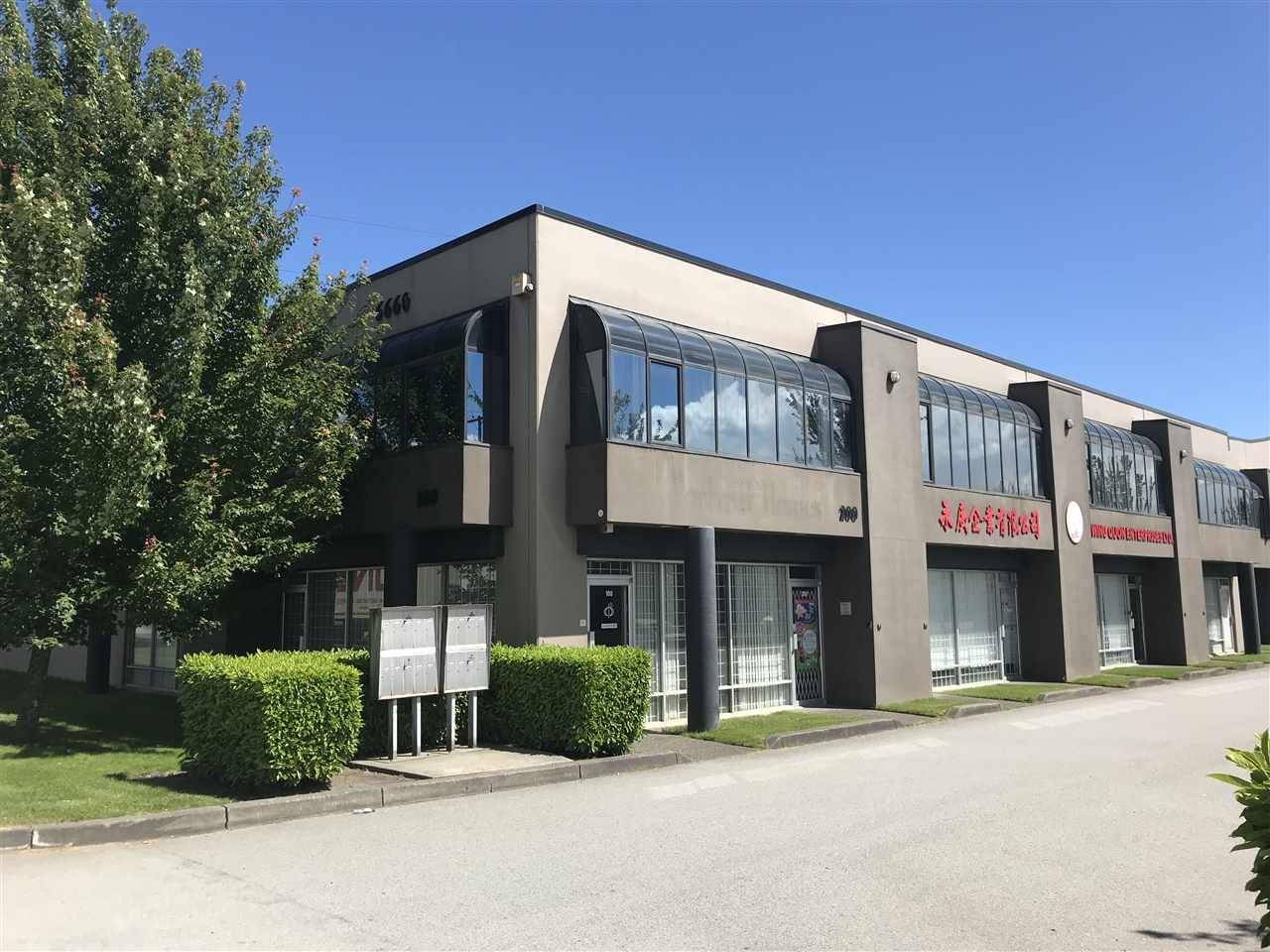 Commercial property for sale at 6660 Graybar Rd Unit 100 Richmond British Columbia - MLS: C8026194