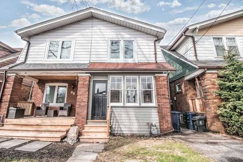 Townhouse for sale at 100 Billings Ave Toronto Ontario - MLS: E4424293