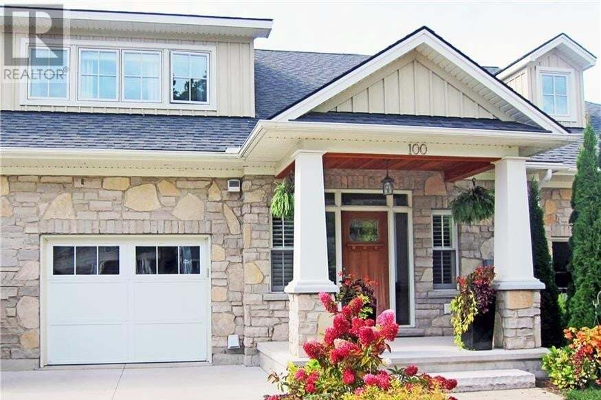 Townhouse for sale at 100 Cedar Bush Dr Southampton Ontario - MLS: 40023464