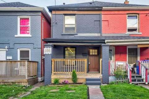 Townhouse for sale at 100 Gibson Ave Hamilton Ontario - MLS: X4771314