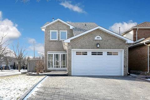 House for sale at 100 Gray Cres Richmond Hill Ontario - MLS: N4674314