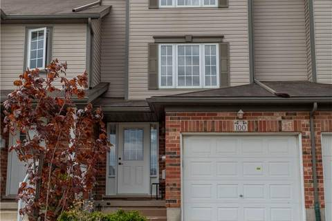 Townhouse for sale at 100 Rochefort St Kitchener Ontario - MLS: 30744857