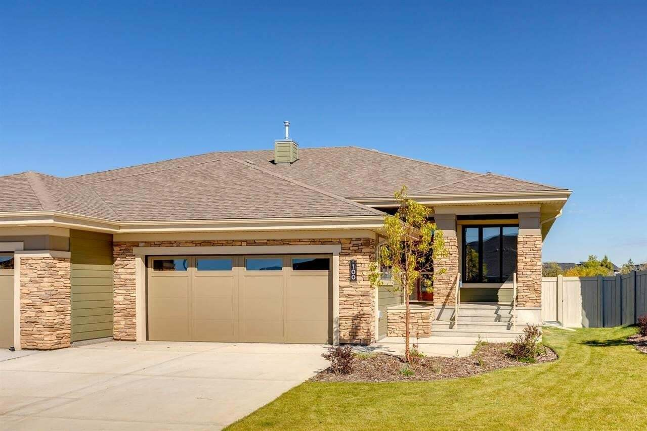 Townhouse for sale at 100 Rybury Co Sherwood Park Alberta - MLS: E4182332