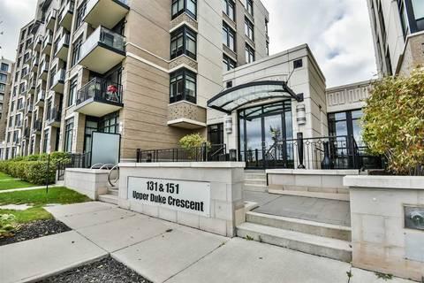 Condo for sale at 131 Upper Duke Cres Unit 1001 Markham Ontario - MLS: N4450328
