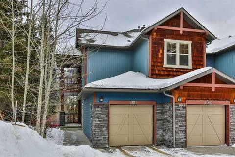 Townhouse for sale at 70 Dygras Gt Unit 1001 Canmore Alberta - MLS: C4285508