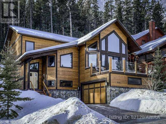 House for sale at 1001 Wilson Wy Canmore Alberta - MLS: 52120